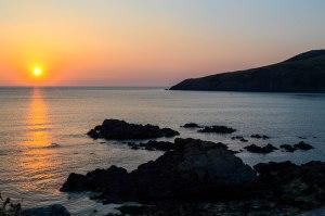 Church Bay Sun Set