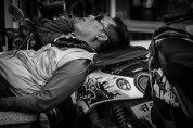 Motobike Taxi Driver, Thailand