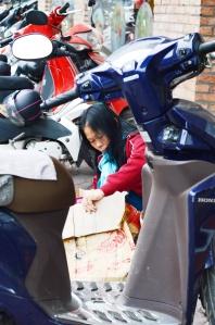 Between Motorbikes