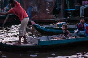 Child in a boat (1 of 1)