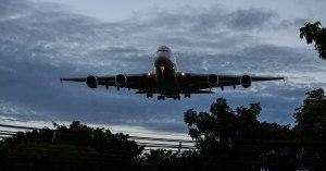 Landing A380