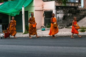 Four Little Monks_