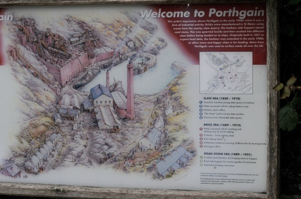 Porthgain Map