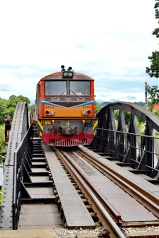Train On Bridge 2